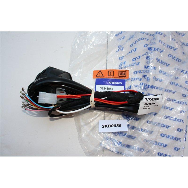 31346058 Volvo S40 V50 Wiring Kit Towbar